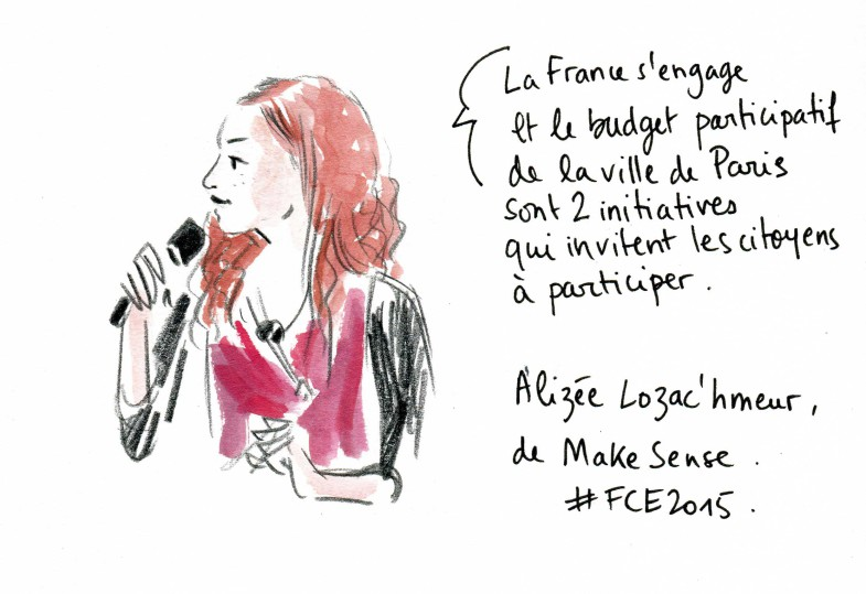 livesketching, fce2015 Make Sense