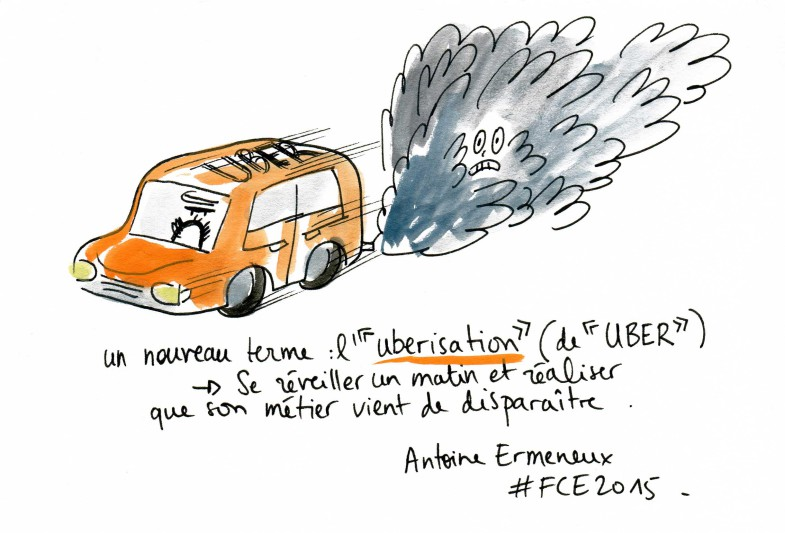 livesketching, fce2015, l'uberisation